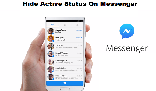 How do active status on or off in Messenger